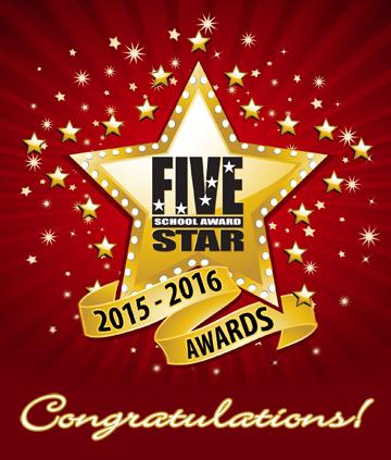5 star school award 2015-2016